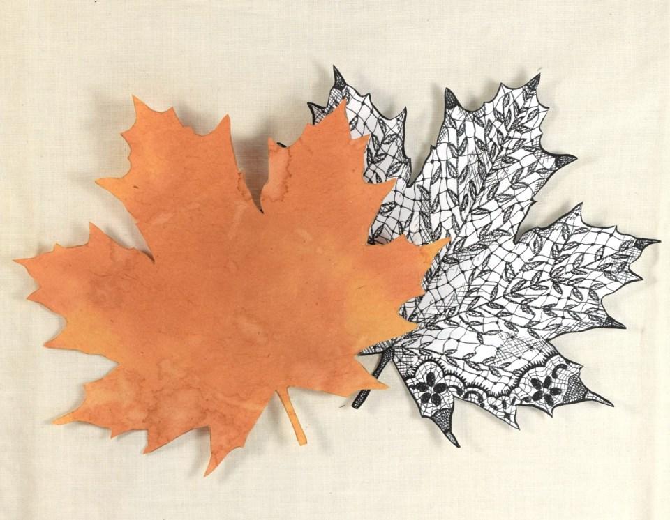 Lacy Maple Leaf Autumn Card Tutorial