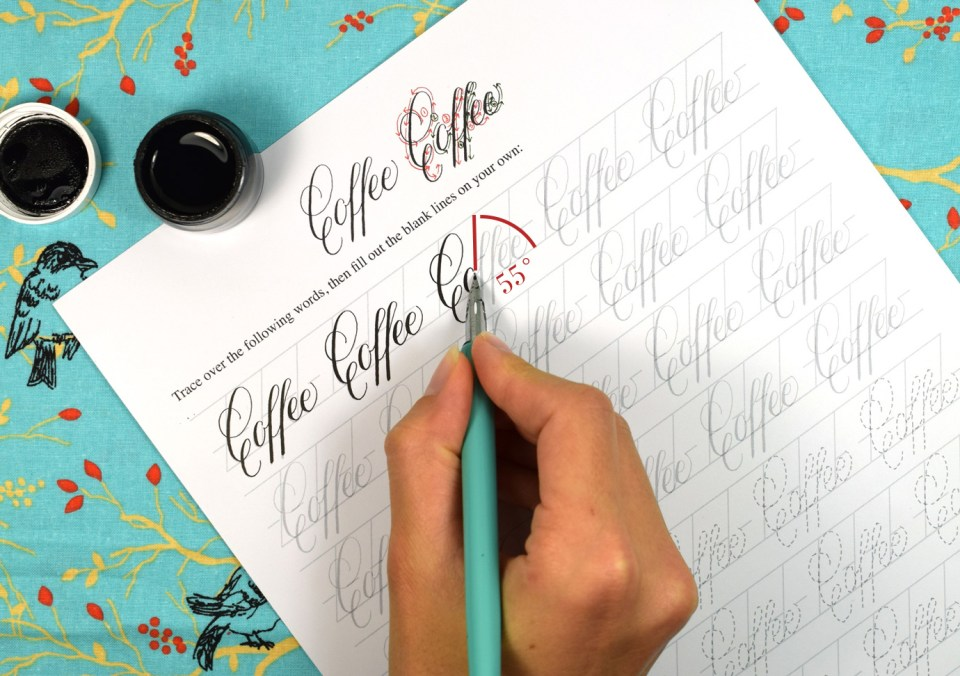 Calligraphy Nib Angle | The Postman's Knock
