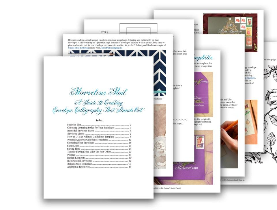 """Marvelous Mail"" eBook PDF"