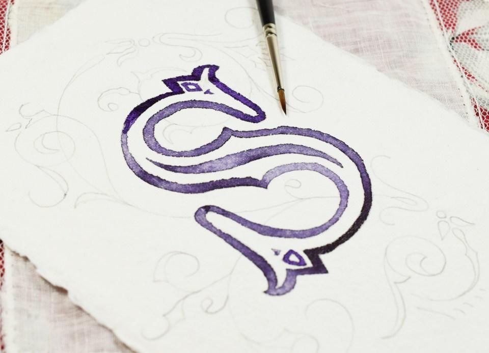 """Inking"" the Illuminated Letter"