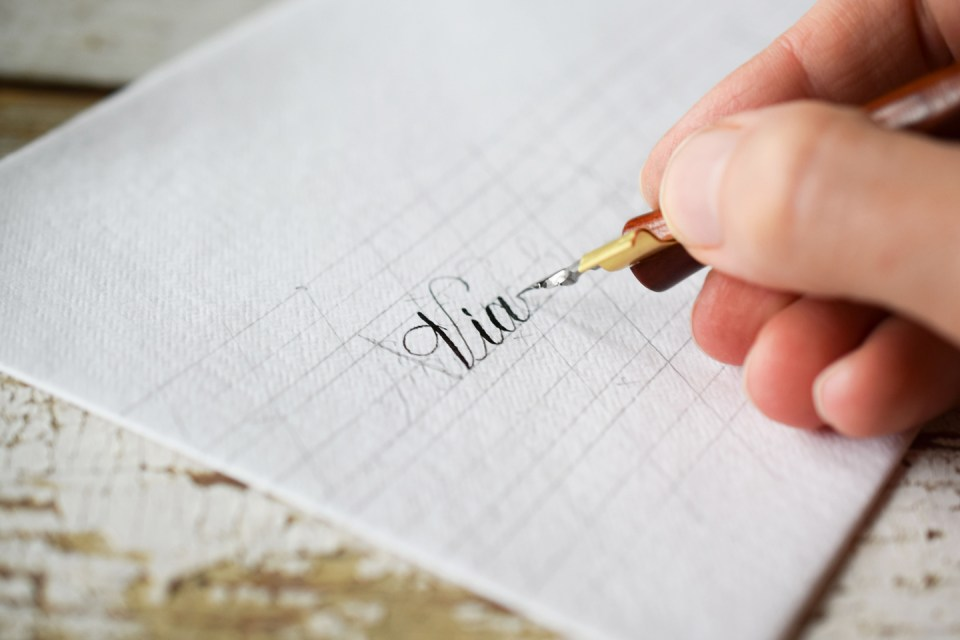 Making the Perfect Calligraphy Envelope