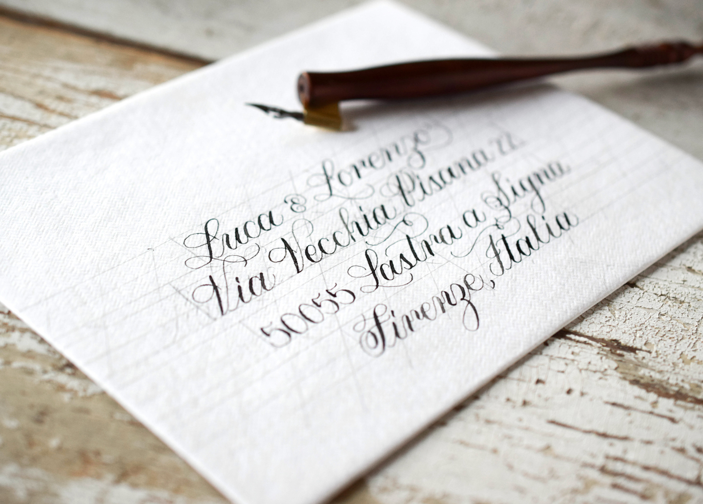 How to Make the Perfect Calligraphy Envelope