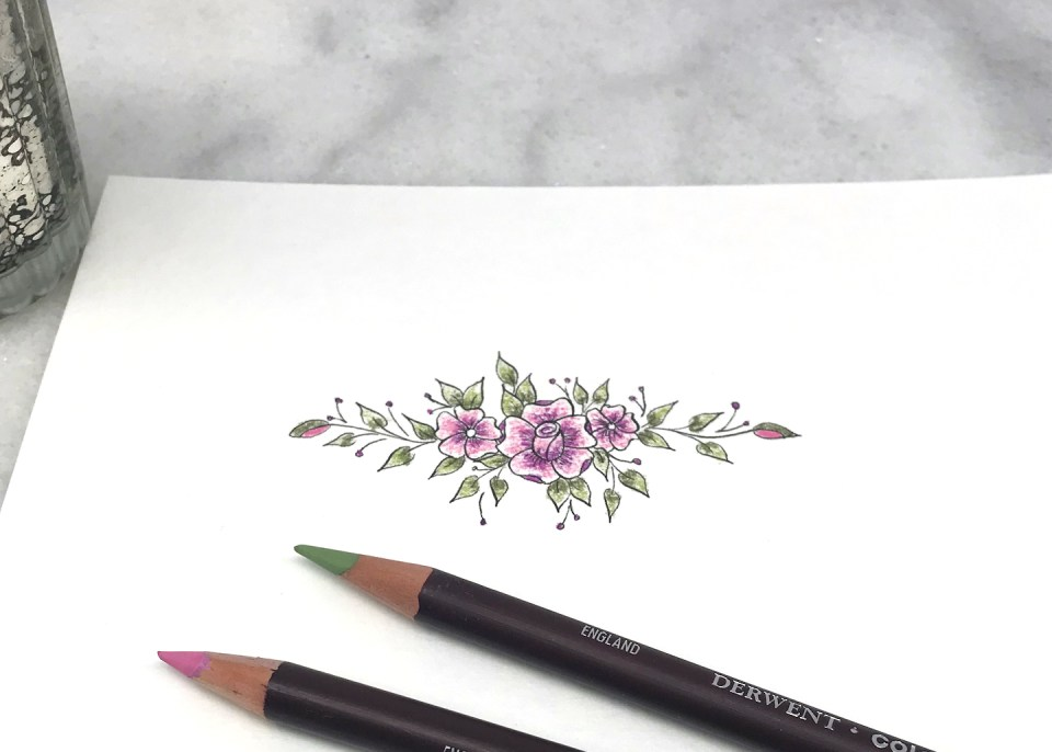 Adding Color to Florals by Jodean Cooper