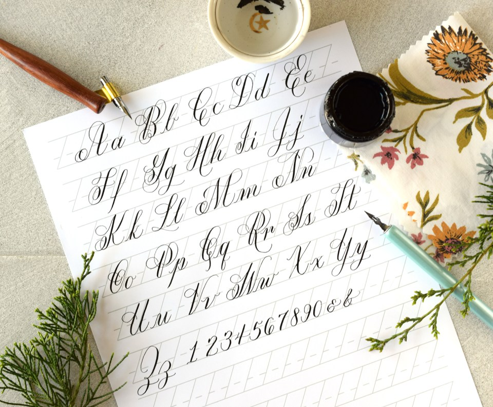 The Ultimate DIY Modern Calligraphy Starter Kit
