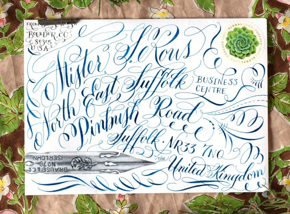 Scribblers Envelope