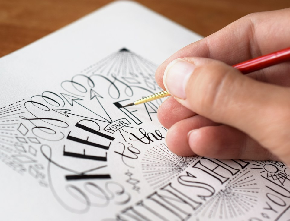 How to Hand Letter Like a Pro