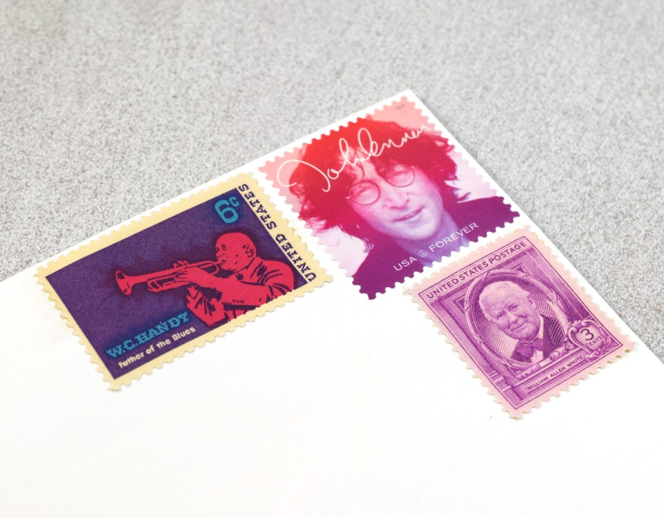Funky Postage Stamps