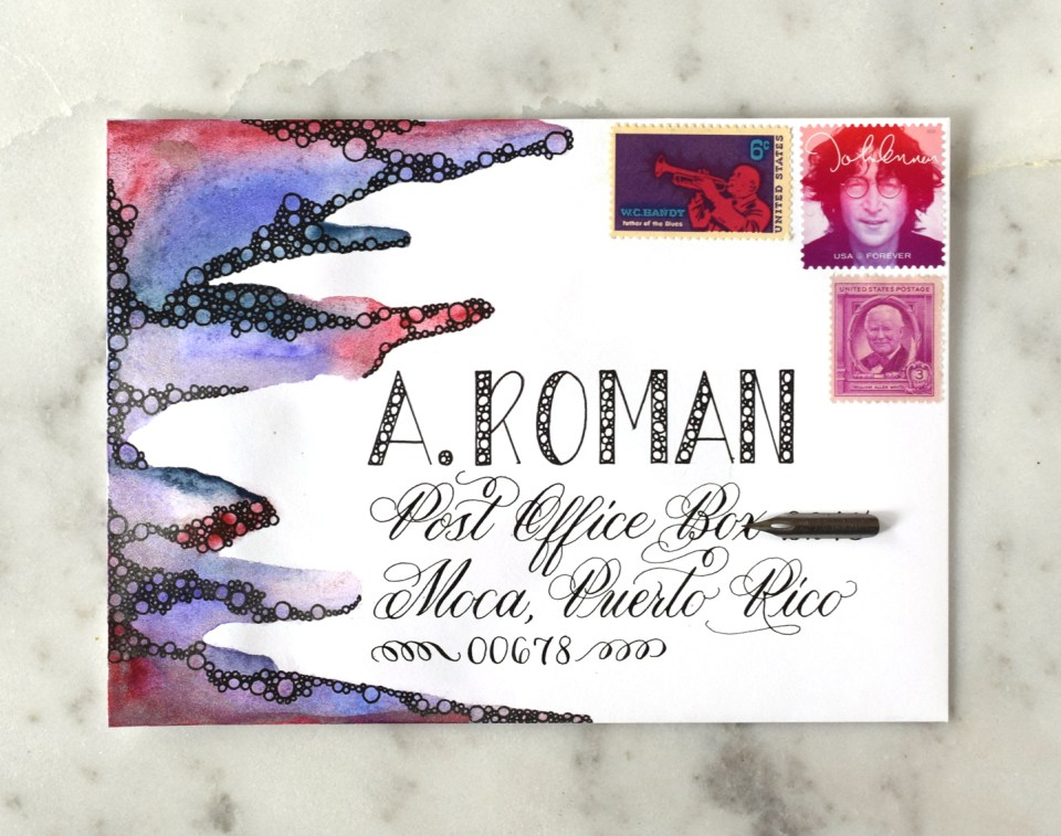 The Ultimate Funky Envelope Art Tutorial