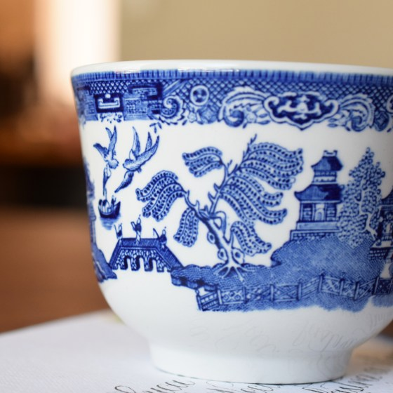 This is one of my favorite art water cup patterns ever. (Aren't those birds fabulous?!)