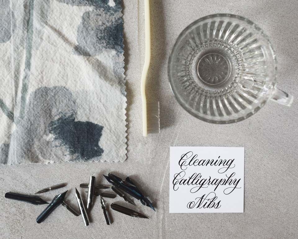A Guide to Cleaning Calligraphy Nibs