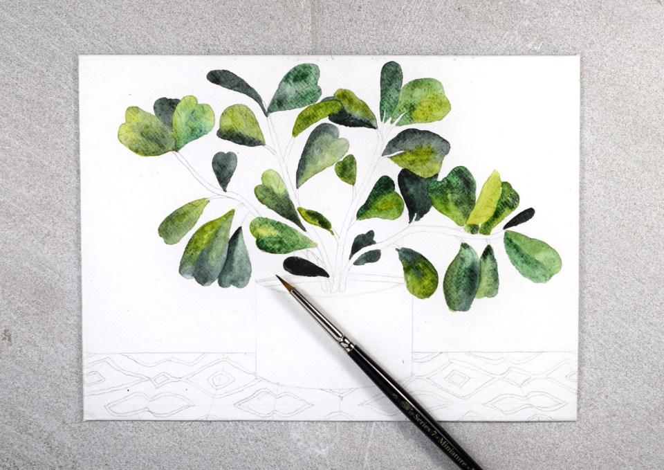Adding Watercolor