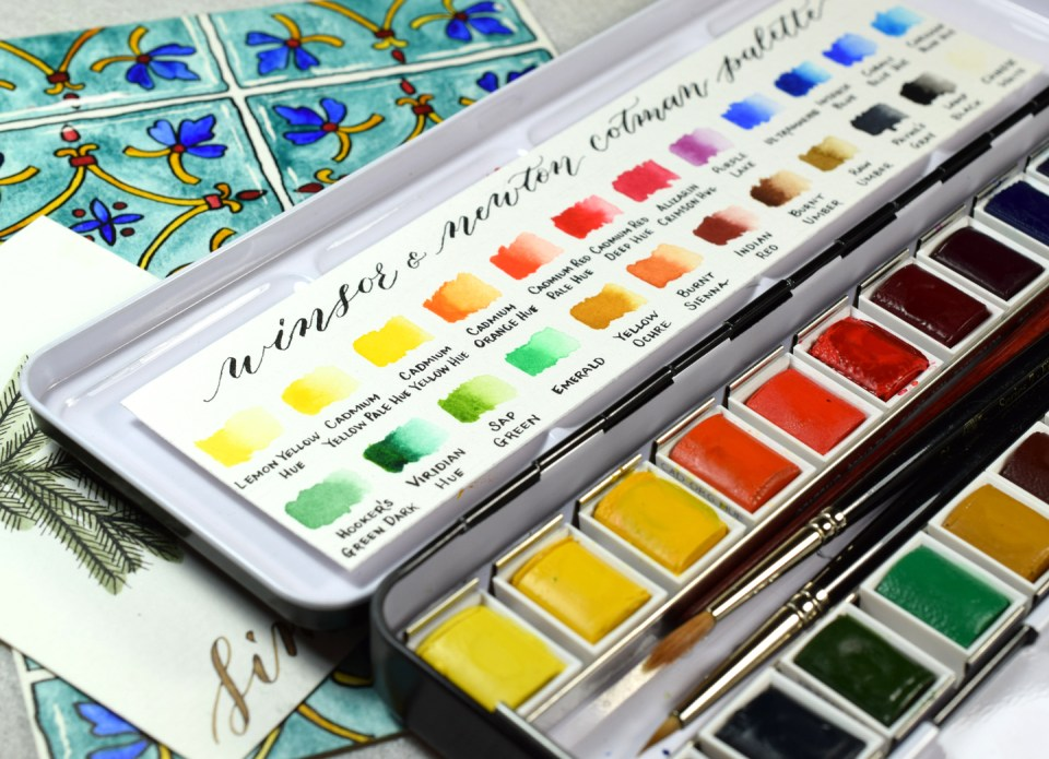 How to Make the Perfect Watercolor Color Chart