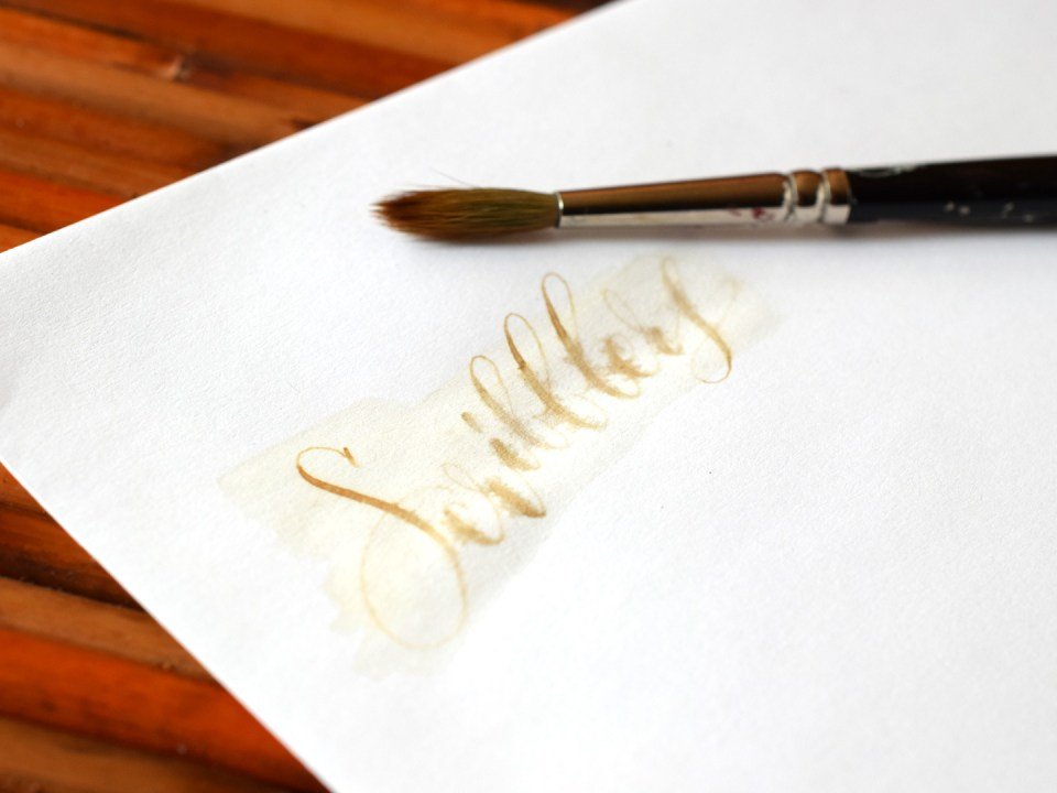 How to Use Coffee to Write Calligraphy