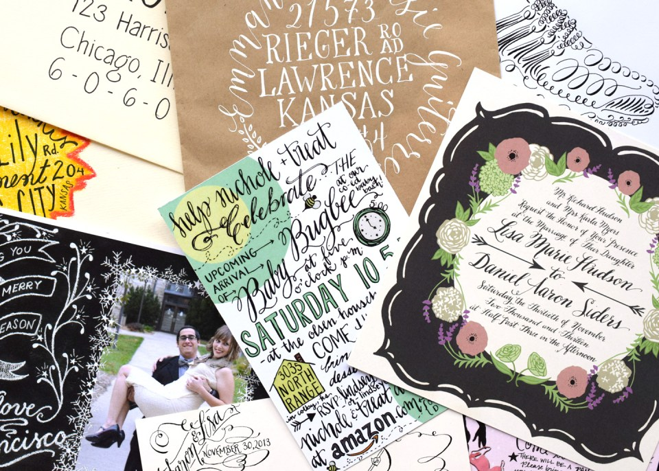 8 Throwback Calligraphy Projects for Inspiration