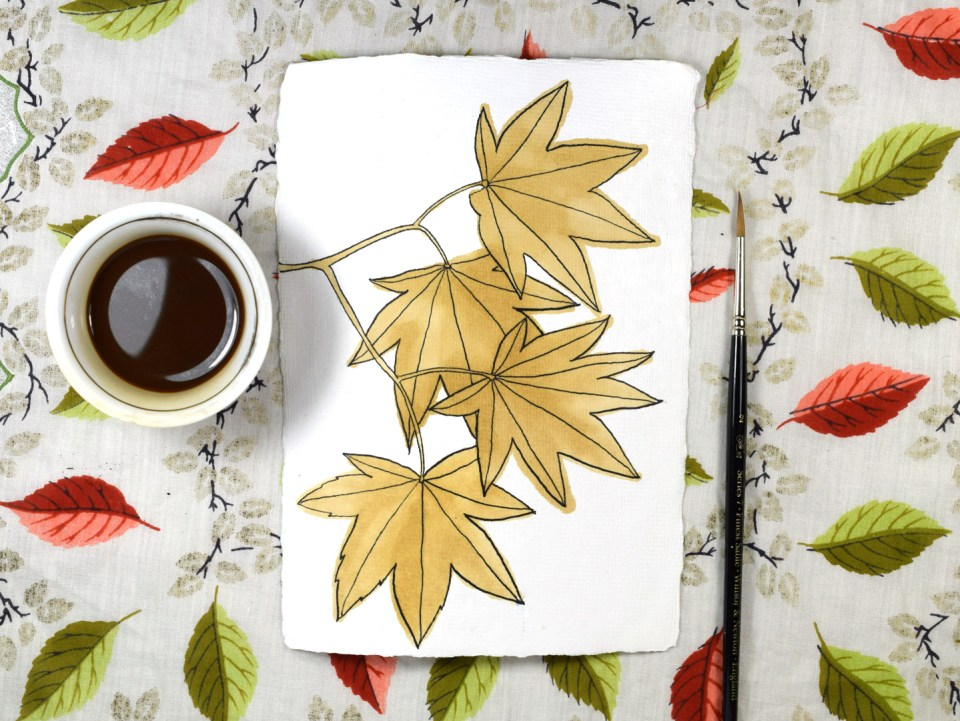 Coffee-Stained Leaves