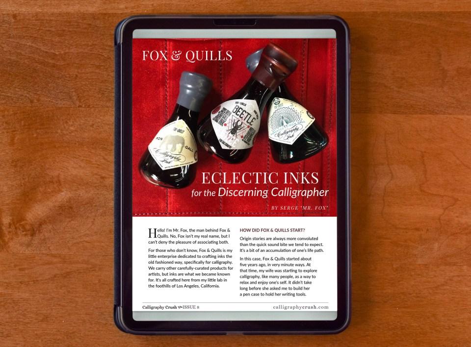 Fox & Quills Inks