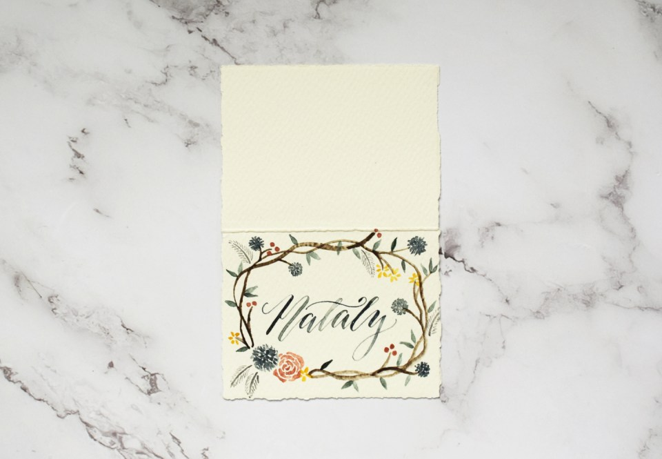 Nataly Place Card