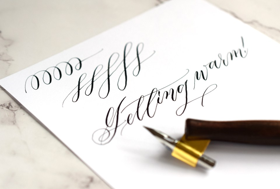 Shaky Calligraphy Strokes: Causes, Solutions, and a Free Warm Up Worksheet