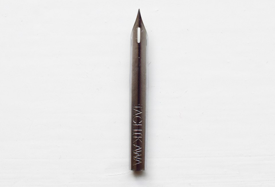 How to Use a Crowquill Nib