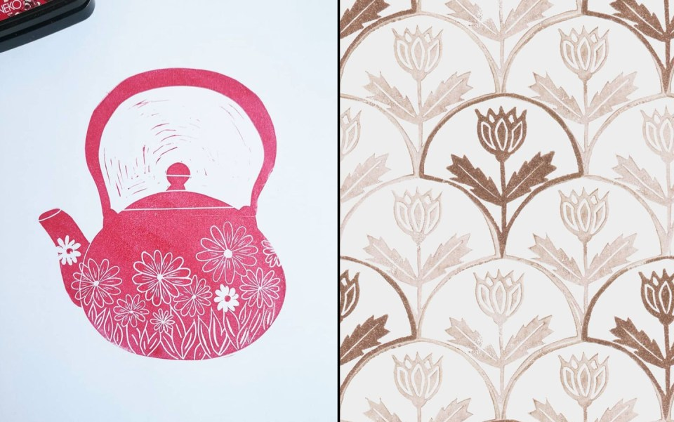 Block Printing by Marie Le Moal