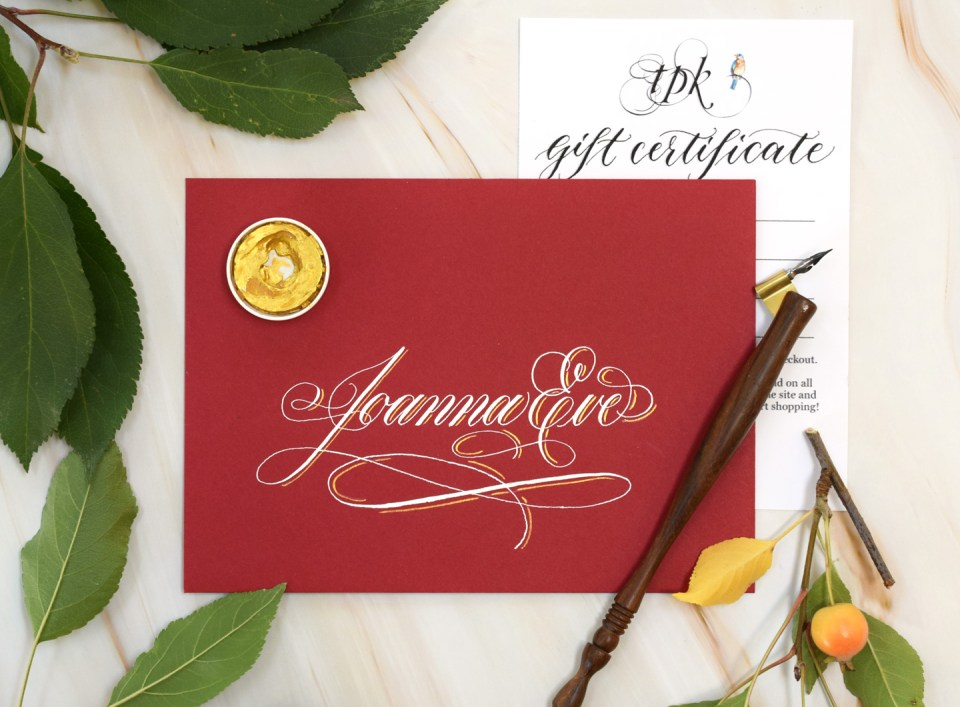 How to Make the Perfect Name-Only Envelope for a Card