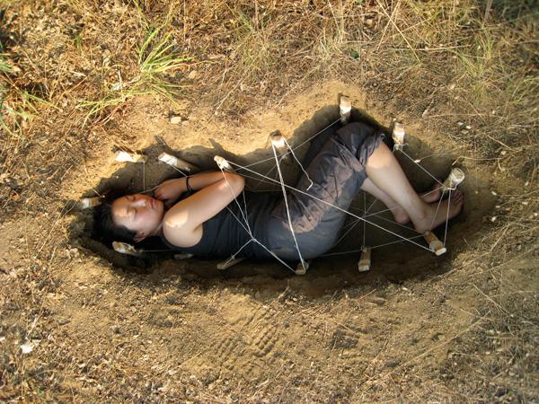 Jae Rhim Lee, preparing for her dirt nap