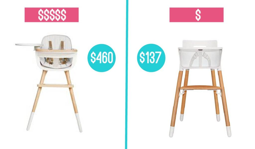 baby product high chair comparison