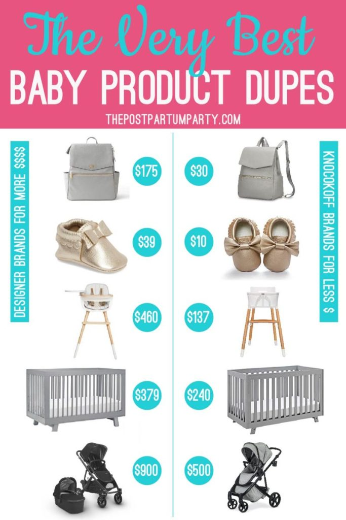 best baby product for less pin image