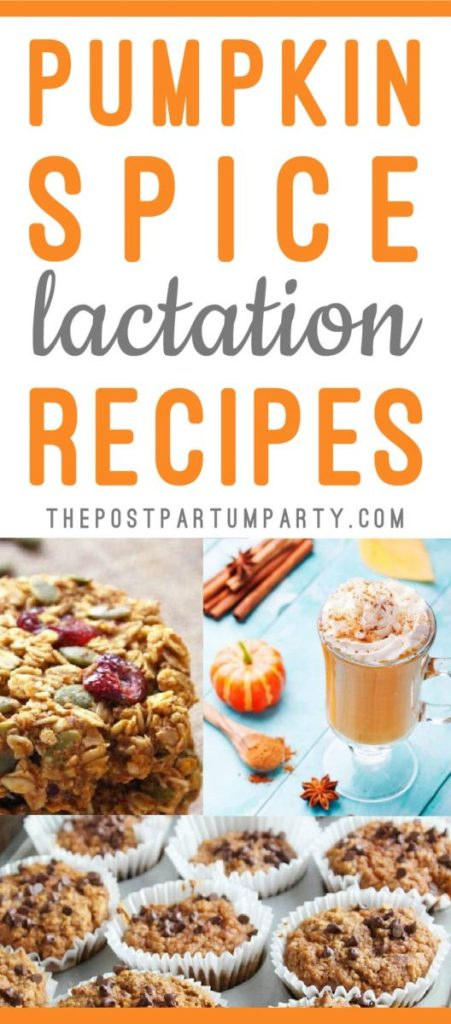 It's officially fall, which means I want pumpkin spice EVERYTHING! Whip up these pumpkin lactation recipes to help boost your milk supply and enjoy some pumpkin flavored fall treats!