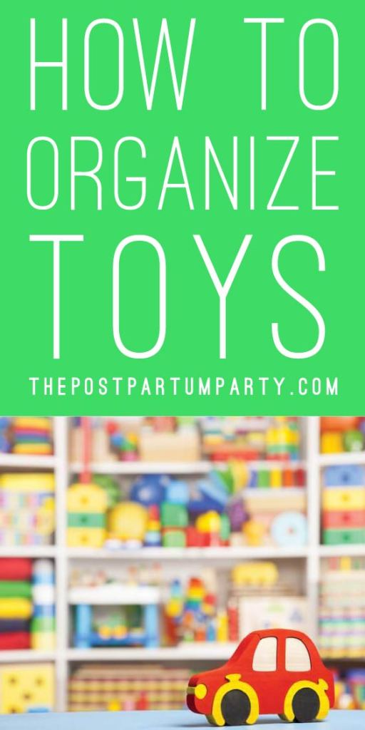 how to organize toys pin