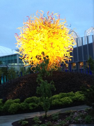 The Dale Chihuly exhibit is a must see