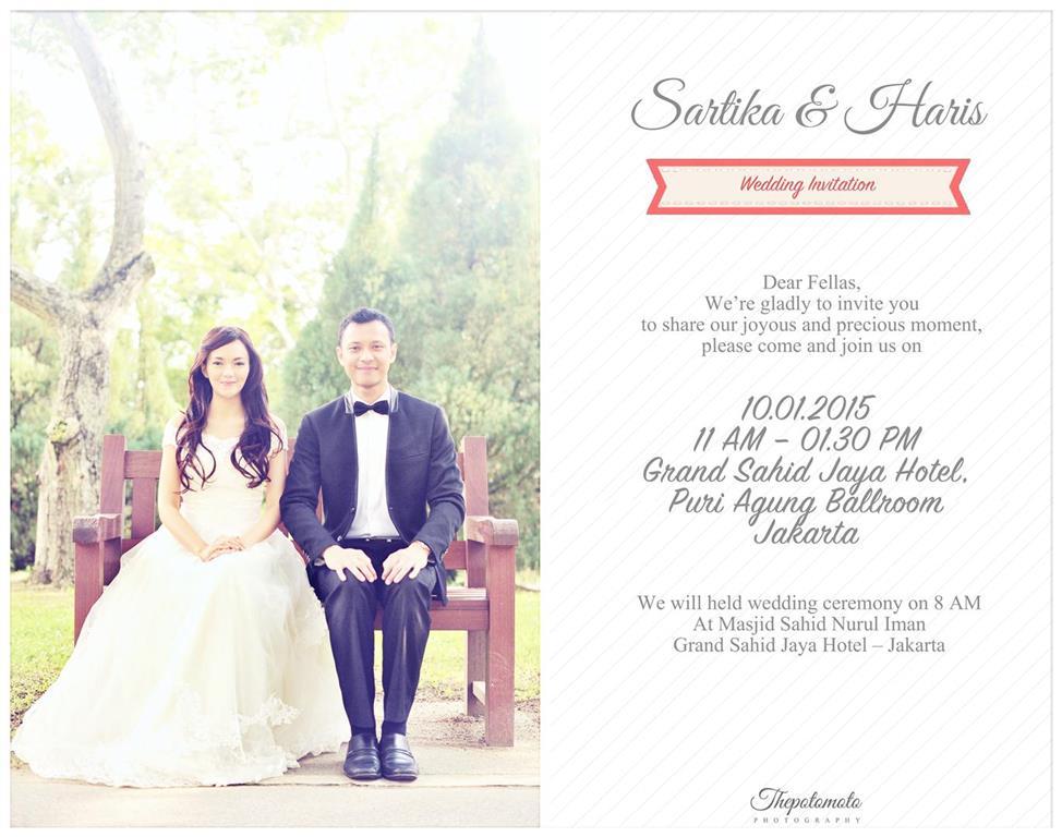 Undangan Pernikahan Unik Thepotomoto S Blog