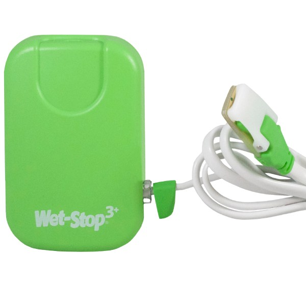 Green Wet-Stop 3+ with sensor cord attached.
