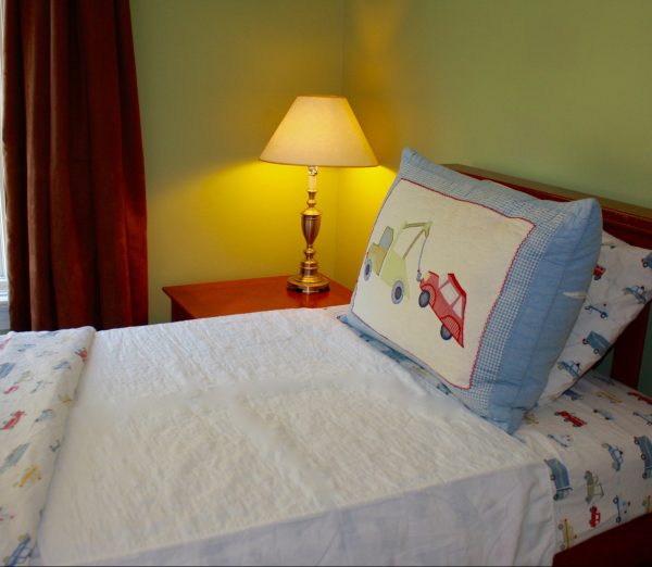 "Wet-Stop waterproof mattress pad is available with two 18"" tuck wings for secure placement over bottom bedsheet."