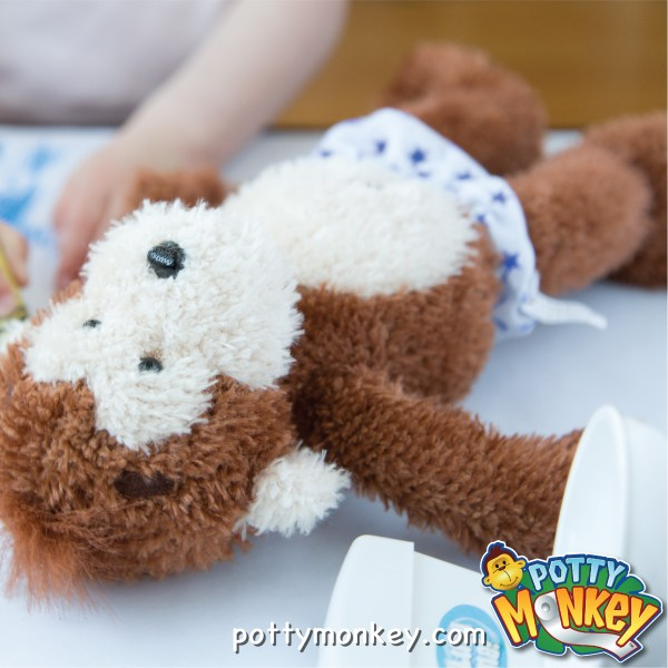 Potty Monkey talking potty reminder monkey doll.