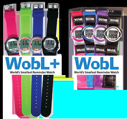 WobL potty reminder watches