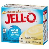 JELL-O Sugar Free Cheesecake Instant Pudding Mix
