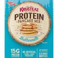 Krusteaz Protein Pancake Mix, Buttermilk - 100% Whole Grain Flour