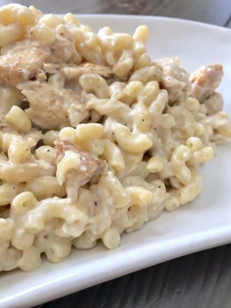 Pepper Jack Mac n' Cheese with Chicken
