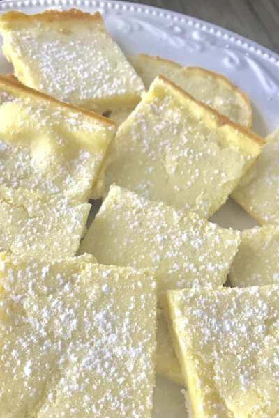 Low-Point Lemon Bars
