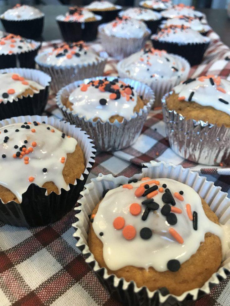 Cinnamon Pumpkin Spice Cupcakes