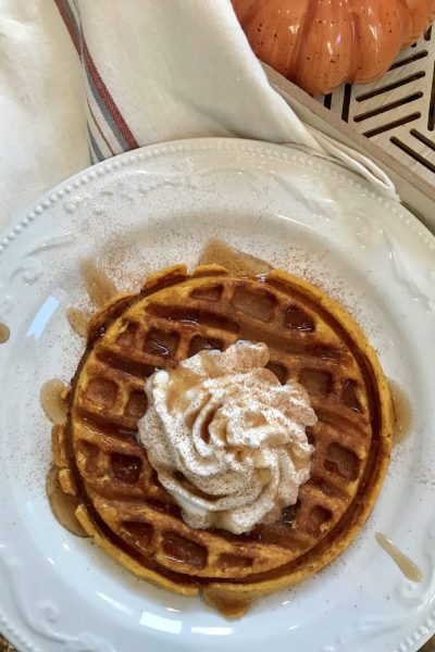 One Point Pumpkin Protein Waffle