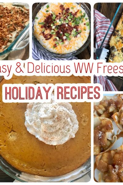 12 Easy and Delicious WW Friendly Holiday Recipes