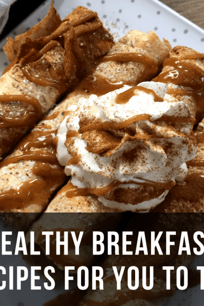 Healthy WW Friendly Breakfast Recipes