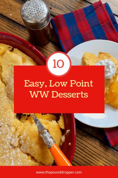 Low Point WW Friendly Desserts
