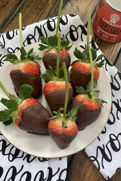 Sugar Free Chocolate Covered Strawberries