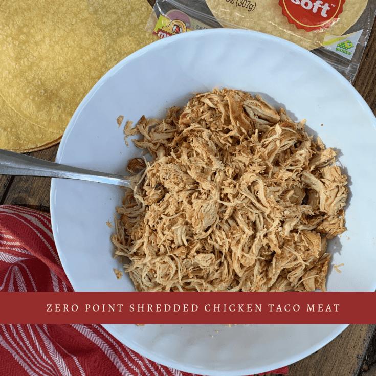 Zero Point Slow Cooker or Instant Pot Shredded Chicken