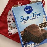 Pillsbury Sugar Free Milk Chocolate Brownie Mix