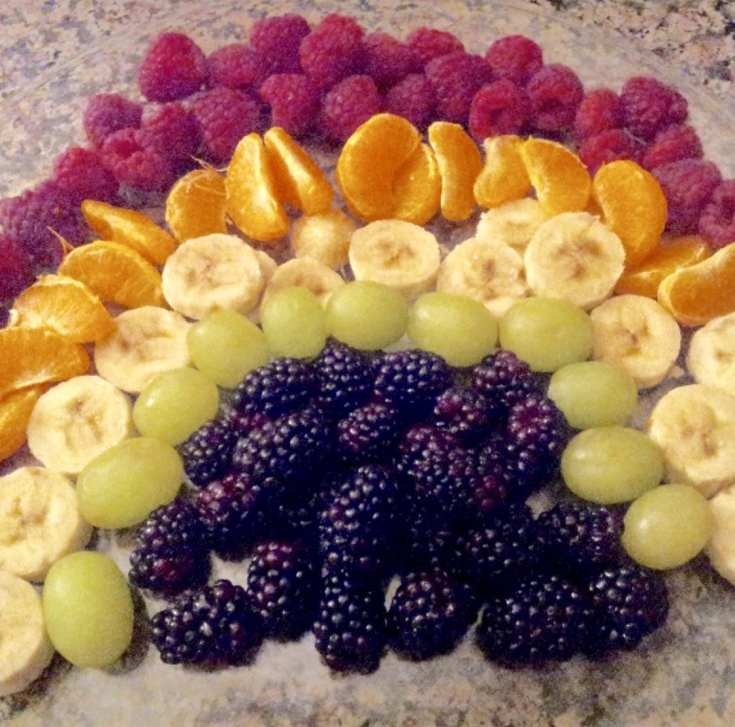 Zero Point Rainbow Fruit Tray