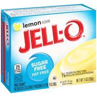 Jell-O Instant Sugar-Free Lemon Pudding & Pie Filling